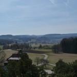 Blick vom Raichbergturm Richtung Albstadt- Onstmettingen